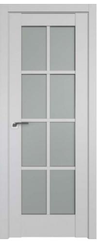 Дверь межкомнатная Turen Becker 101U светло-серый ПО