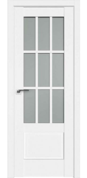 Дверь межкомнатная Turen Becker 104U белый ПО