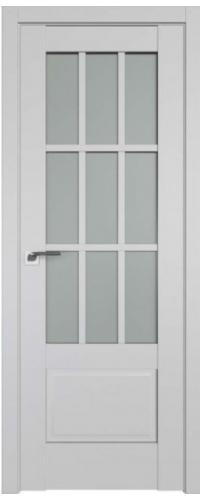 Дверь межкомнатная Turen Becker 104U светло-серый ПО