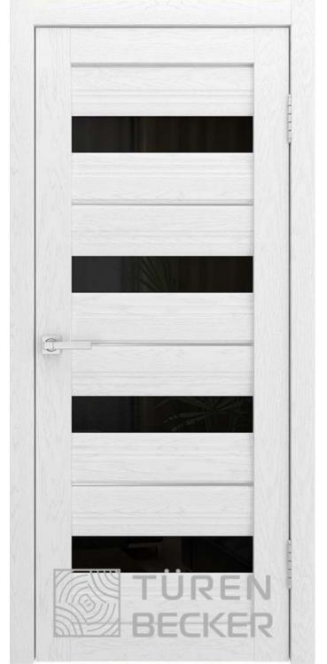 Дверь межкомнатная Turen Becker S41 ПО ясень белый SOFT TOUCH