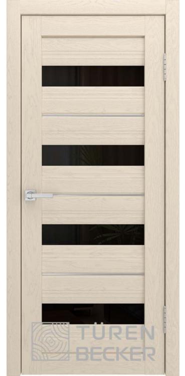 Дверь межкомнатная Turen Becker S41 ПО ясень капучино SOFT TOUCH