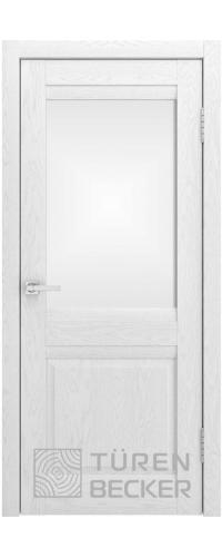 Дверь межкомнатная Turen Becker S8 ПО ясень белый SOFT TOUCH