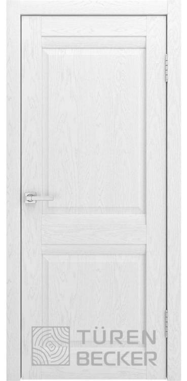 Дверь межкомнатная Turen Becker S8 ПГ ясень белый SOFT TOUCH
