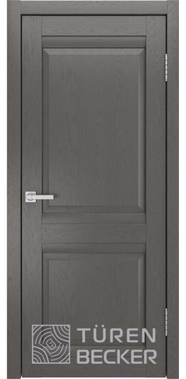 Дверь межкомнатная Turen Becker S8 ПГ ясень графит SOFT TOUCH