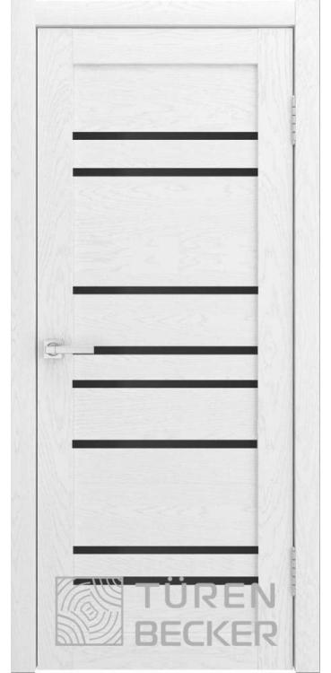 Дверь межкомнатная Turen Becker S53 ПО ясень белый SOFT TOUCH