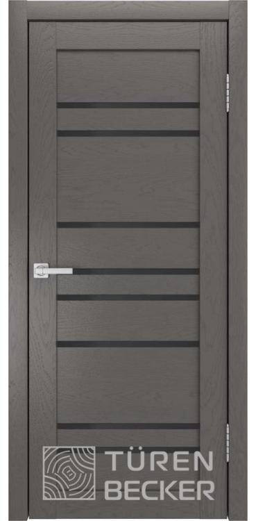 Дверь межкомнатная Turen Becker S53 ПО ясень графит SOFT TOUCH