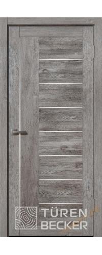 Дверь межкомнатная Turen Becker Элфи 40.12 Дуб грей