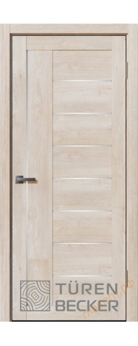 Дверь межкомнатная Turen Becker Элфи 40.14 Дуб седой
