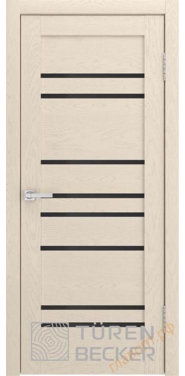 Дверь межкомнатная Turen Becker S53 ПО ясень капучино SOFT TOUCH