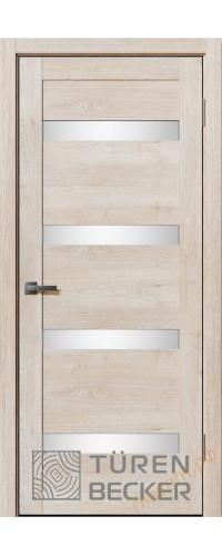 Дверь межкомнатная Turen Becker Тора 13.0.14 Дуб седой