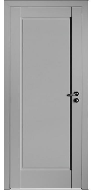 Дверь межкомнатная Turen Becker 100U светло-серый ПГ