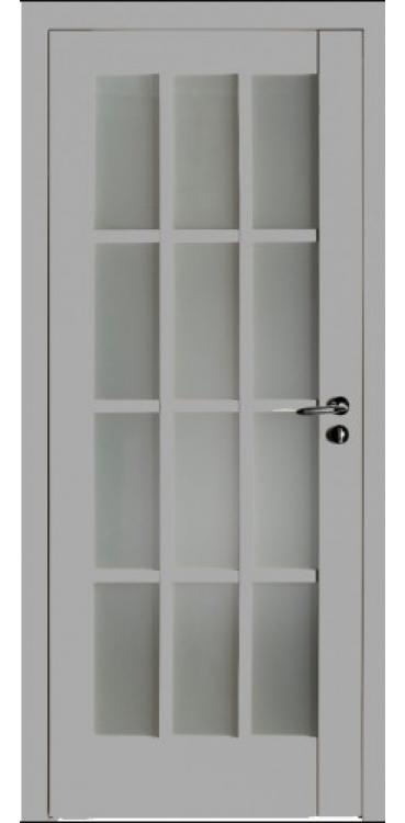Дверь межкомнатная Turen Becker 102U светло-серый ПО