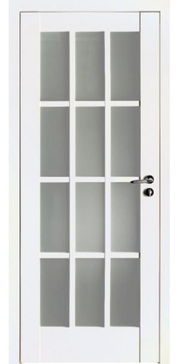 Дверь межкомнатная Turen Becker 102U белый матовый ПО