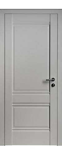 Дверь межкомнатная Turen Becker U1 светло-серый ПГ