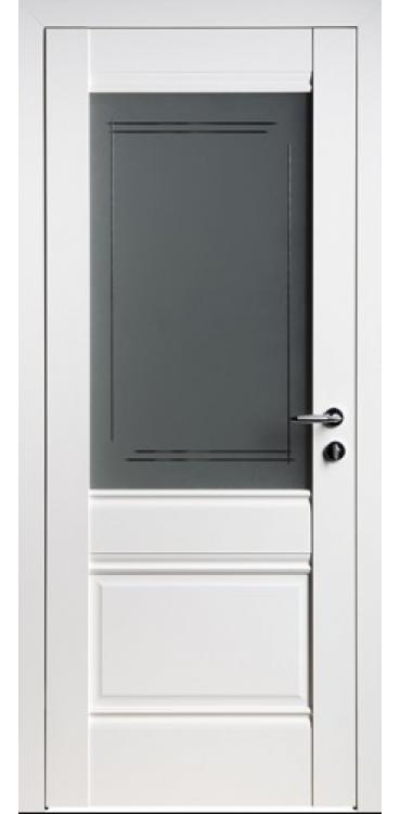 Дверь межкомнатная Turen Becker U2 белый ПО