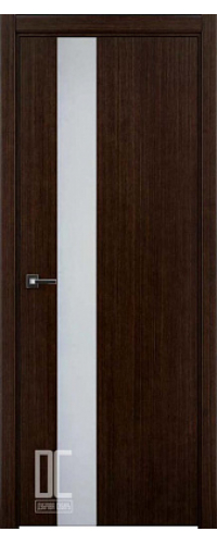 Дверь межкомнатная ГРАНД ПО 150 - Орех темный