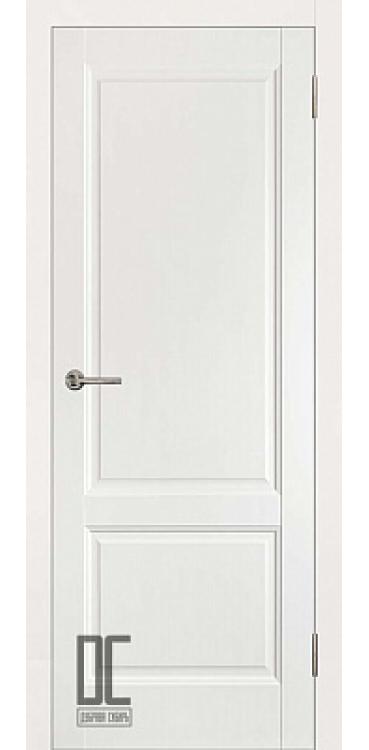 Дверь межкомнатная ЛИРА ПГ - White Софт Тач