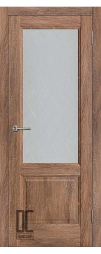 Дверь межкомнатная ЛИРА ПО - Дуб колорадо