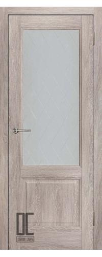 Дверь межкомнатная ЛИРА ПО - Дуб скандинавский