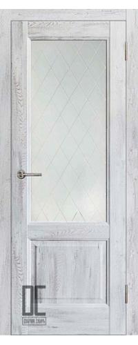 Дверь межкомнатная ЛИРА ПО - Ель альпийская