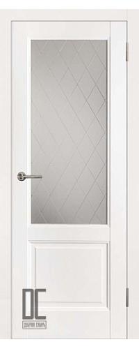 Дверь межкомнатная ЛИРА ПО - White Софт Тач