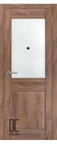 Дверь межкомнатная ОМЕГА ПО - Дуб колорадо