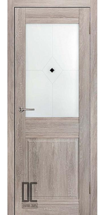 Дверь межкомнатная ОМЕГА ПО - Дуб скандинавский