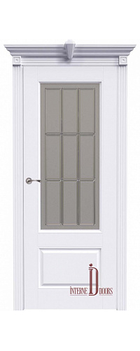 Дверь межкомнатная АККОРД А15 ПО - Эмаль белая