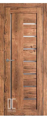 Дверь межкомнатная РАДА ВЕРТИКАЛЬ ПО Софт Тач - Орех Софт Тач