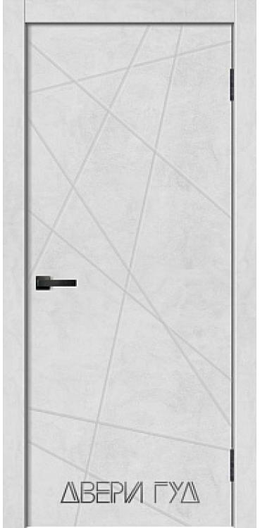 Дверь межкомнатная GEO-1 ПГ - Бетон снежный