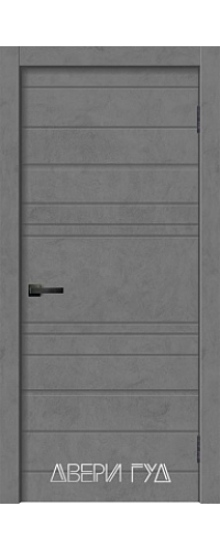 Дверь межкомнатная GEO-2 ПГ - Бетон графит