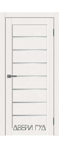 Дверь межкомнатная L-1 ПО - Snow Soft