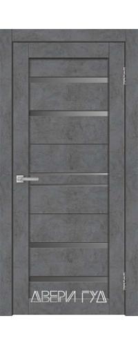 Дверь межкомнатная X-23 ПО - Бетон графит