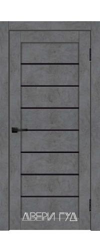 Дверь межкомнатная X-24 ПО - Бетон графит