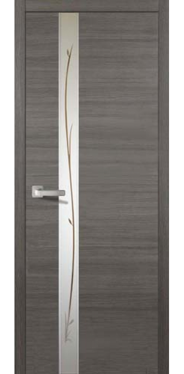 Дверь Соммер Серый Нордик 708 У