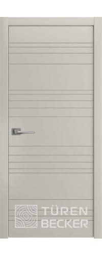 Дверь Соммер эмаль ПГ серый камень