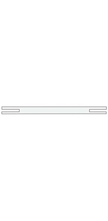 Добор телескоп. 200 (1 шт.) серый камень, латте, белая эмаль, слоновая кость