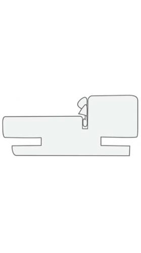 Коробка телескоп. (1 шт.) серый камень, латте, белая эмаль, слоновая кость