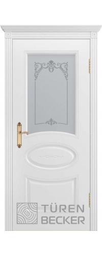 Дверь ПРОВАНС В1 ПО белая эмаль