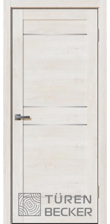 Дверь Ханна ПО Life (4 стекла) Дуб молочный