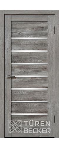 Дверь Ханна ПО Life (4 стекла) Дуб грей