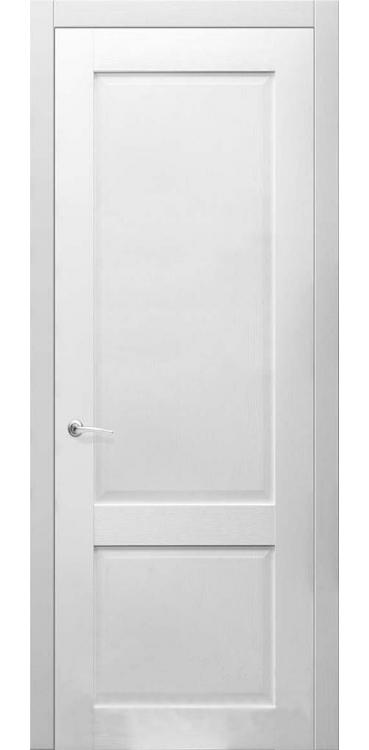 Дверь Илия Белый рифленый 10.10