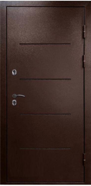 Входная дверь Turen-Becker ТЕРМО ТЕРМОРАЗРЫВ БЕЛЫЙ ДУБ