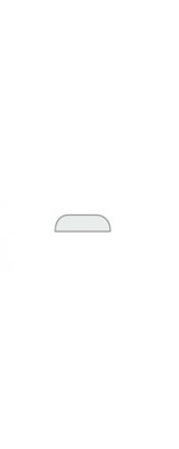 Планка притвор. Эмаль (1 шт.) белая эмаль, слоновая кость